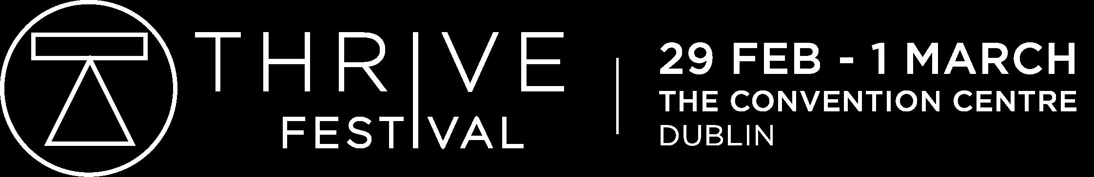 thrive festival logo 2020